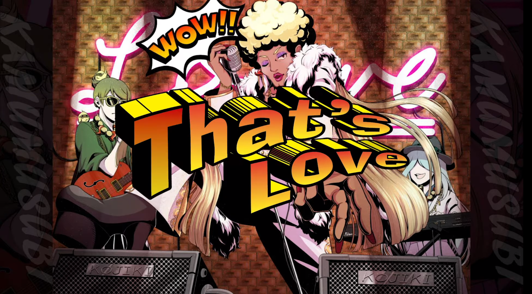 カムムスビのキャラクターソング「That's love」のMV公開!!